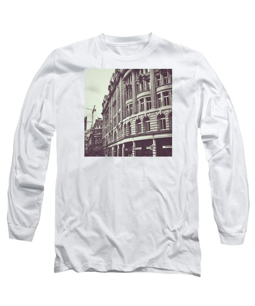 Streets Of London Long Sleeve T-Shirt by Trystan Oldfield