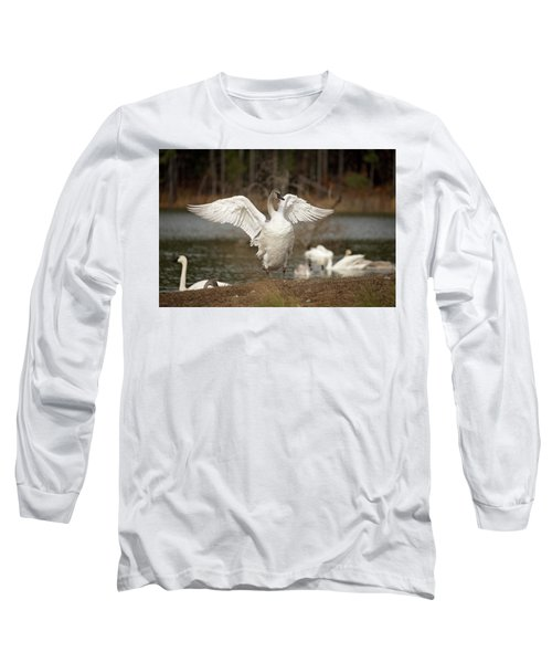 Stretch Your Wings Long Sleeve T-Shirt