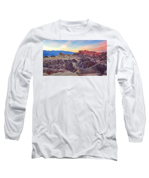 Striated Erosion Long Sleeve T-Shirt
