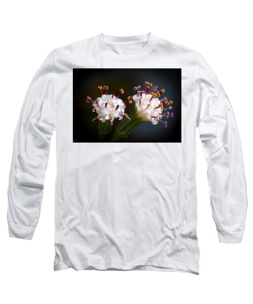 String Of Pearl Succulent Flowers Long Sleeve T-Shirt