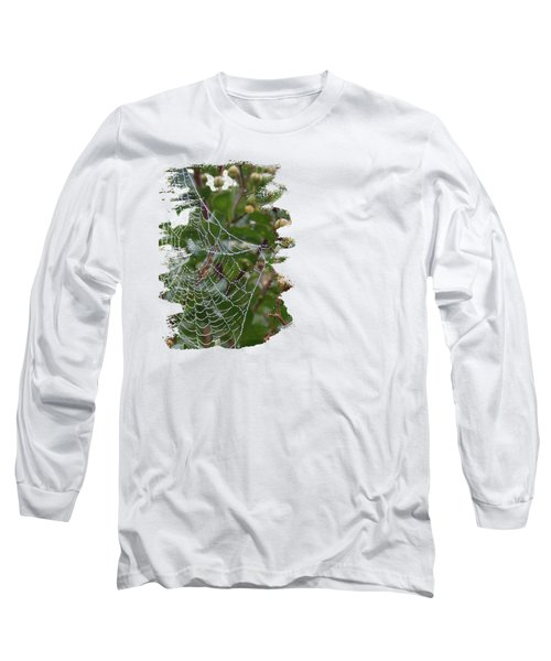 String Of Pearls Long Sleeve T-Shirt by Anita Faye