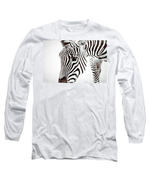 Long Sleeve T-Shirt featuring the photograph Striped by Wade Brooks