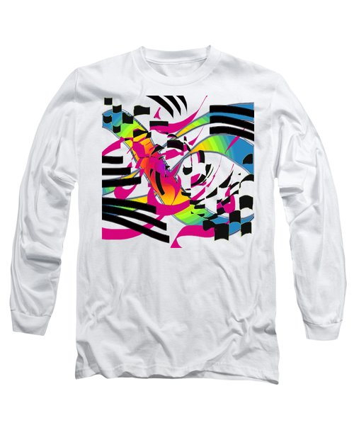 Stripes And Color Long Sleeve T-Shirt