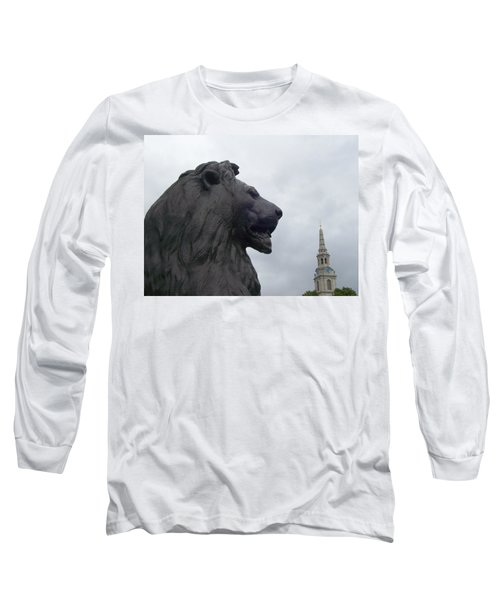 Strong Lion Long Sleeve T-Shirt
