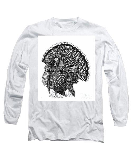 Strutting Gobbler Long Sleeve T-Shirt