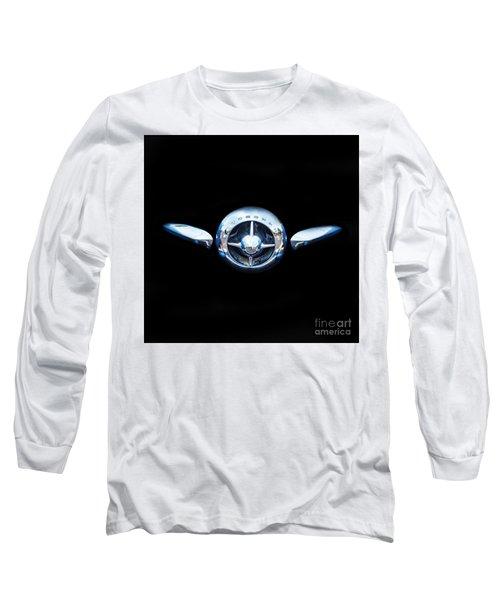 Studebaker In Black Long Sleeve T-Shirt by Steven Parker