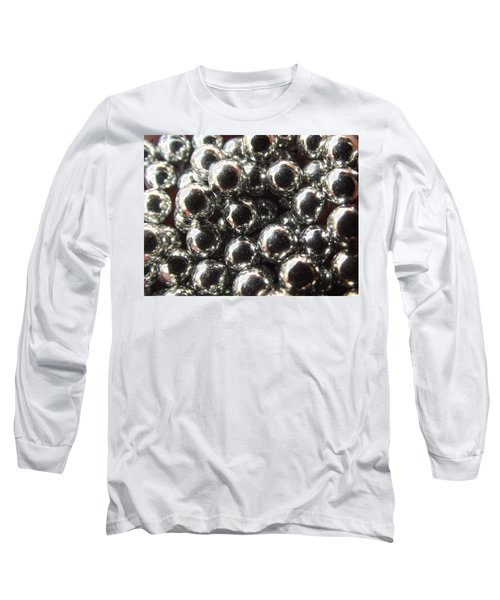 Study Of Bb's, An Abstract. Long Sleeve T-Shirt