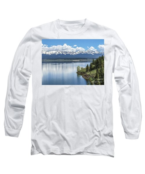 Long Sleeve T-Shirt featuring the photograph Stunning Colorado by William Wyckoff