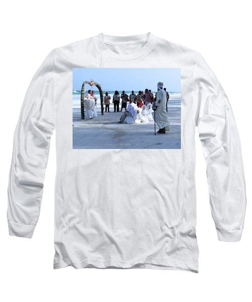 Stunning Kenya Beach Wedding Long Sleeve T-Shirt