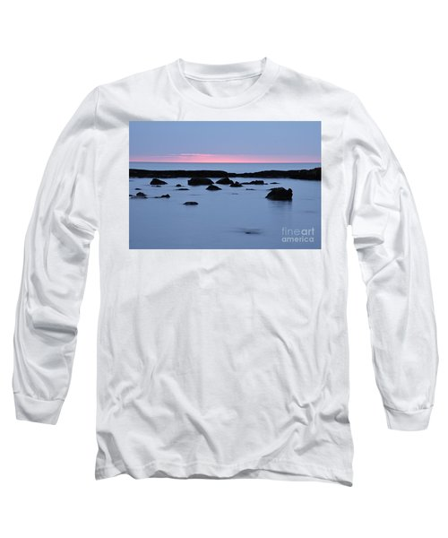 Long Sleeve T-Shirt featuring the photograph Subtle Sunrise by Larry Ricker