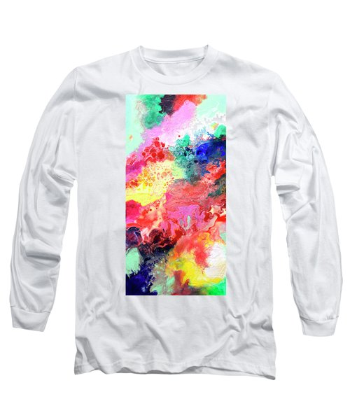 Subtle Vibrations, Canvas Four Of Five Long Sleeve T-Shirt