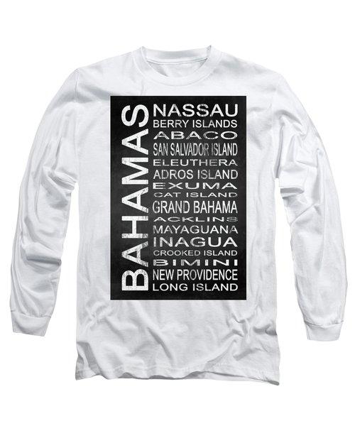 Subway Bahamas 1 Long Sleeve T-Shirt