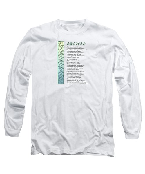 Success Long Sleeve T-Shirt