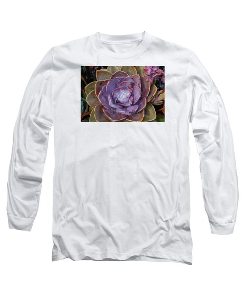 Succulent Star Long Sleeve T-Shirt