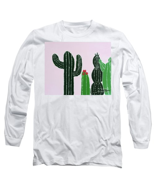 Succulents Long Sleeve T-Shirt