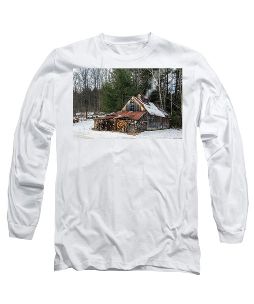 Sugar King's Smokehouse Long Sleeve T-Shirt by Betty Denise