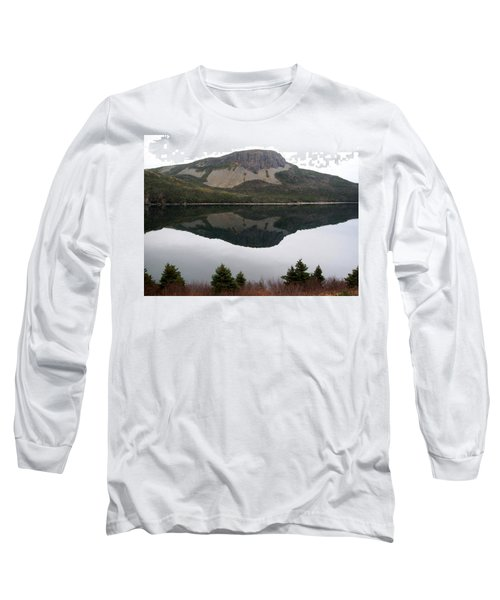 Sugarloaf Hill Reflections Long Sleeve T-Shirt by Barbara Griffin