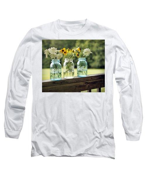 Summer Blooms Long Sleeve T-Shirt