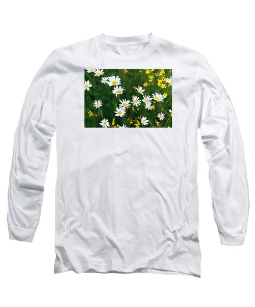 Summer Daisies Long Sleeve T-Shirt