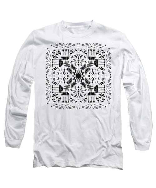 Summer Eating In The Country Long Sleeve T-Shirt