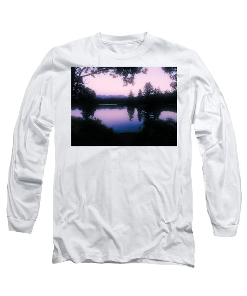 Summer Evening In New Hampshire Long Sleeve T-Shirt by Robin Regan