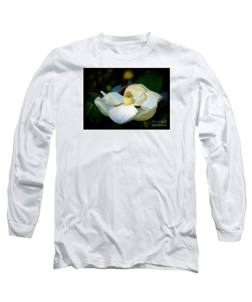 Long Sleeve T-Shirt featuring the photograph Summer Magnolia by Lisa L Silva