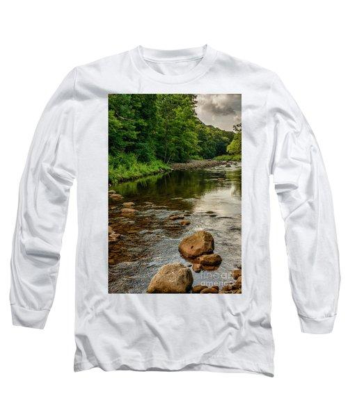 Summer Morning Williams River Long Sleeve T-Shirt