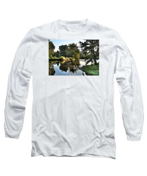 Long Sleeve T-Shirt featuring the photograph Summer Still by Betsy Zimmerli