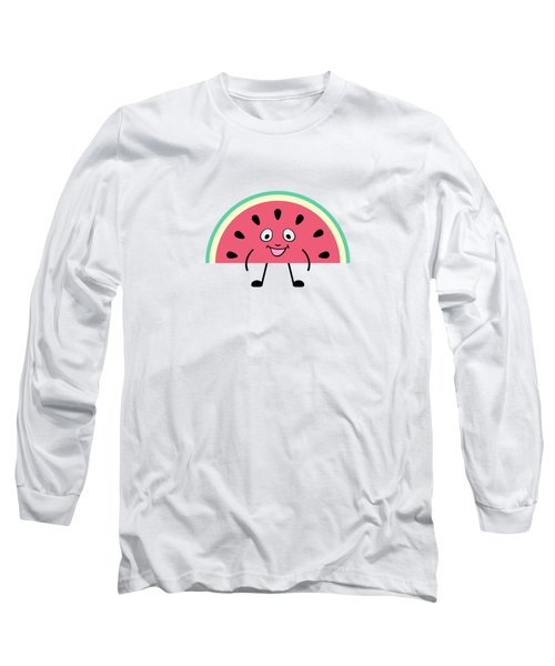 Summer Watermelons Long Sleeve T-Shirt