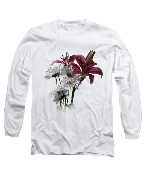 Summer Wild Flowers Clothing Long Sleeve T-Shirt