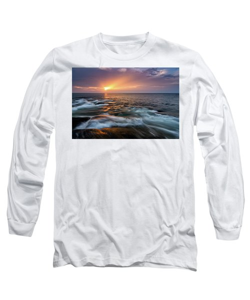 Sun Beams Halibut Pt. Rockport Ma. Long Sleeve T-Shirt
