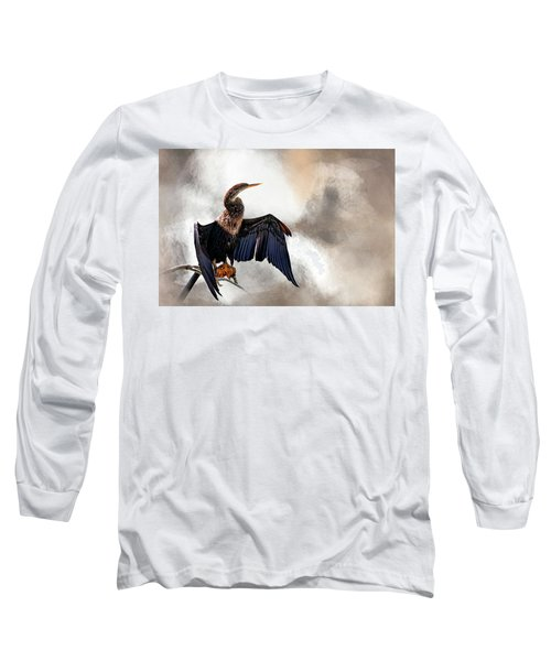 Sun-dried Long Sleeve T-Shirt by Cyndy Doty