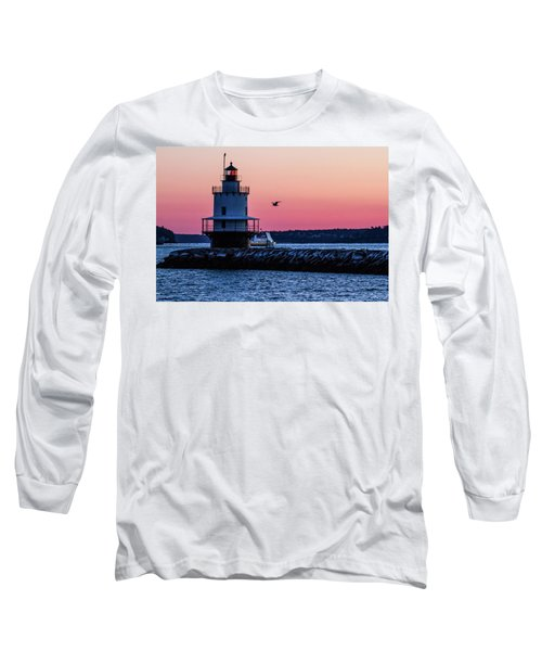 Sun Rise At Spring Point Long Sleeve T-Shirt