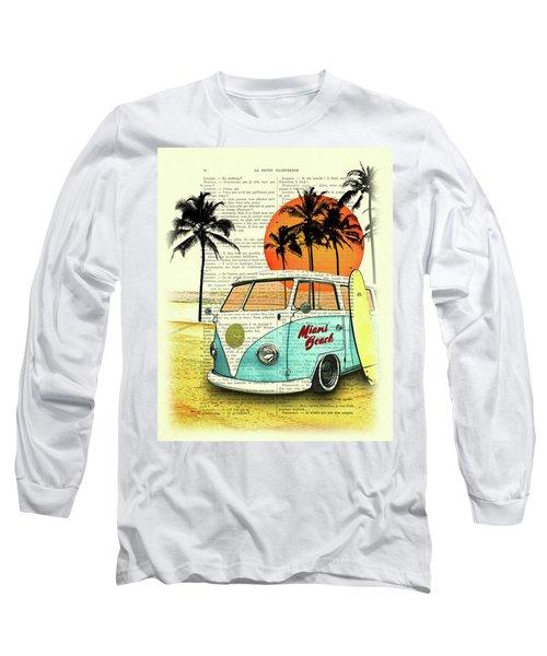 Sun Sea Beach And Fun Long Sleeve T-Shirt