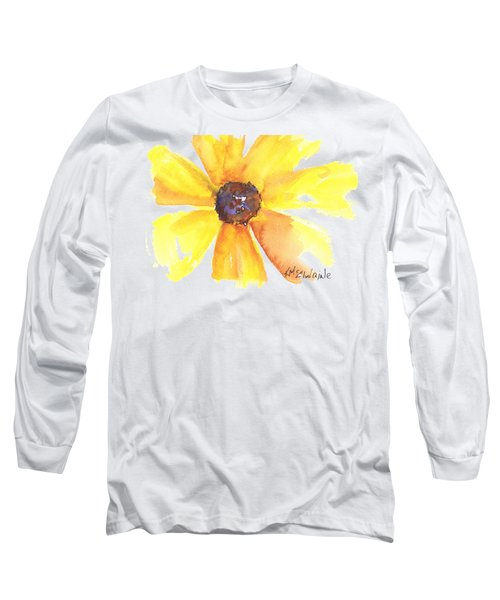 Sunburst Long Sleeve T-Shirt by Kathleen McElwaine