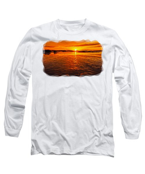 Sundown At Low Tide 2 Long Sleeve T-Shirt