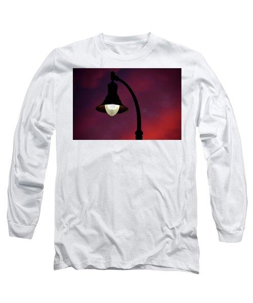 Sundowner Horizontal Long Sleeve T-Shirt by Newel Hunter