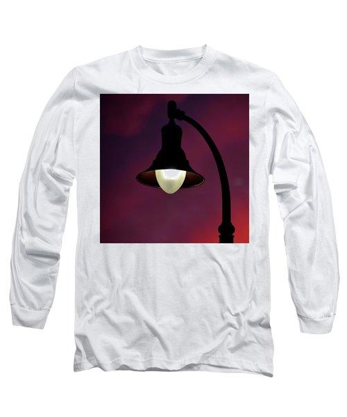 Sundowner Square Long Sleeve T-Shirt by Newel Hunter