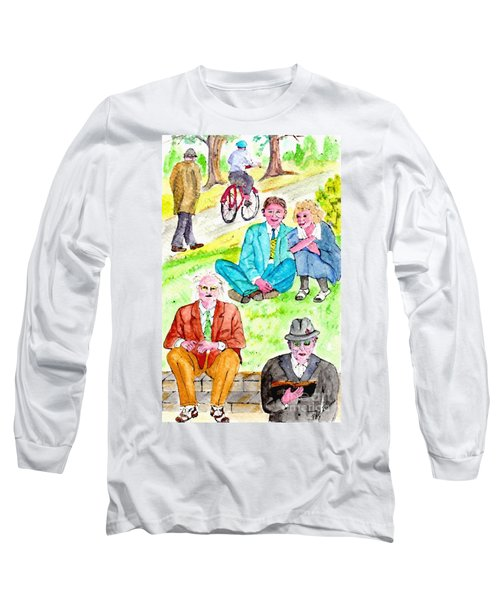 Sunday Morning In Prospect Park Long Sleeve T-Shirt