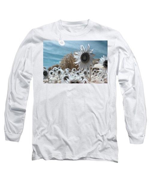 Sunflower Infrared  Long Sleeve T-Shirt