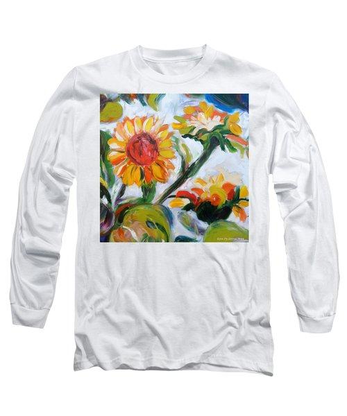 Sunflowers 5 Long Sleeve T-Shirt