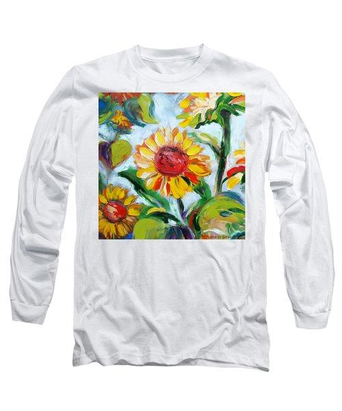 Sunflowers 6 Long Sleeve T-Shirt