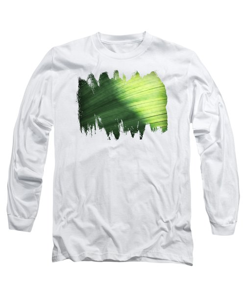 Sunlit Palm Long Sleeve T-Shirt by Anita Faye