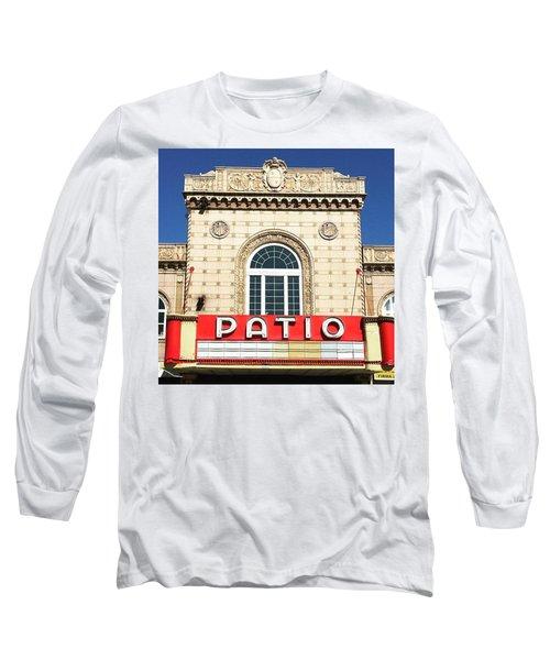 Sunny Patio ...  Long Sleeve T-Shirt