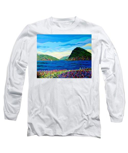 Sunny Swiss-scape Long Sleeve T-Shirt