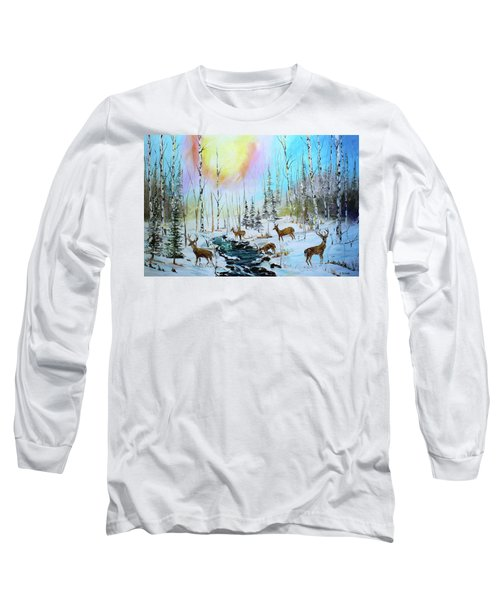 Sunny Winter Long Sleeve T-Shirt