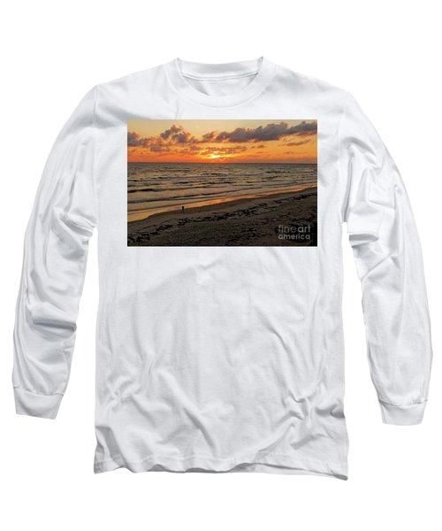 Sunrise Daytona Long Sleeve T-Shirt by Paul Mashburn