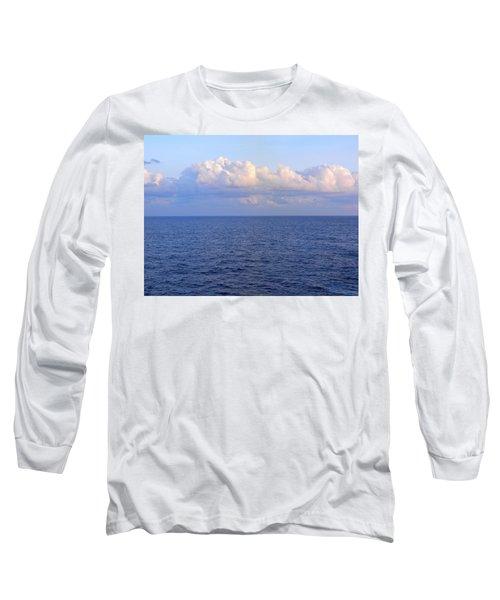 Sunrise From The Atlantic Ocean Long Sleeve T-Shirt