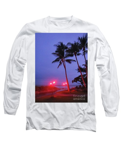 Sunrise Ocean Pathway Long Sleeve T-Shirt