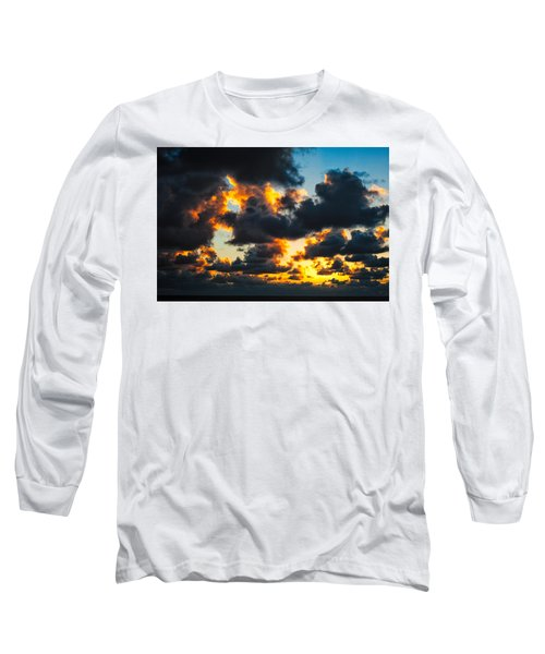 Sunrise On The Atlantic #15 Long Sleeve T-Shirt